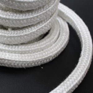 Heat Resistant Fiber Glass Rope with Adhessive pictures & photos