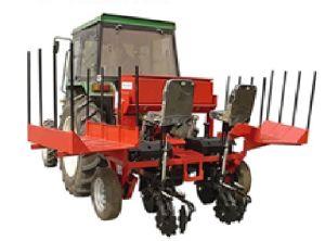 2 Rows Cassava Planter/Cassava Planting Machine Ridging Type