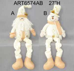 Standing Santa, Snowman and Reindeer Christmas Decoration Gift-3asst. pictures & photos