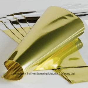 Gold Color Hot Stamping Paper pictures & photos