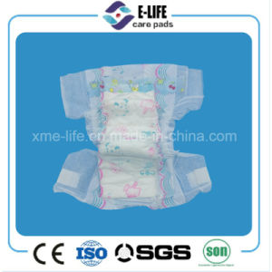 Sleepy Baby Diaper Pamper with Cloth Like Film and Magic Tape pictures & photos