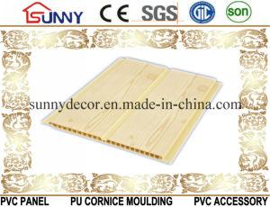 Wooden Transfer Printing PVC Ceiling Wall Panels, Plastic Panel, Cielo Raso De PVC pictures & photos