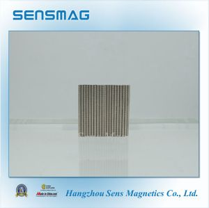 N52 Customized Manufacture Micro Permanent NdFeB Magnet with RoHS pictures & photos