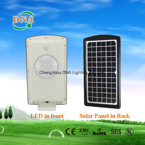 Integrate Motion Sensor LED Solar Power Street Lamp pictures & photos