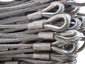 Sling Steel Wire Rope 6X19+FC pictures & photos