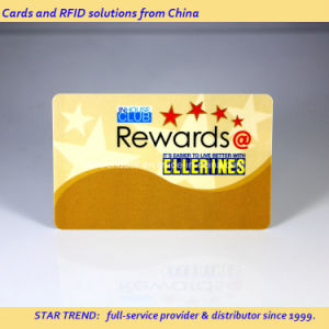 Rewards Card of PVC with Hico Magnetic Stripe for Supermarket pictures & photos