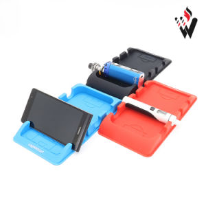 Car Center Console Silicone Mat for Phone Car Holder, Cell Phone Holder pictures & photos