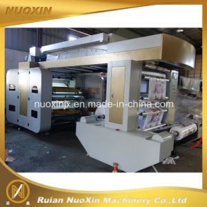 130mm/Min 4 Colour Plastic Film Flexographic Printing Machine pictures & photos