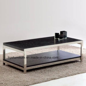 Living Room Wood Coffee Table Wooden Furniture (M127) pictures & photos