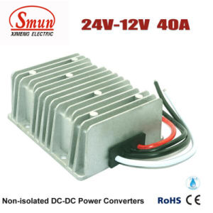 24V to 12V 40A Step-Down Voltage Regulator DC Converter pictures & photos