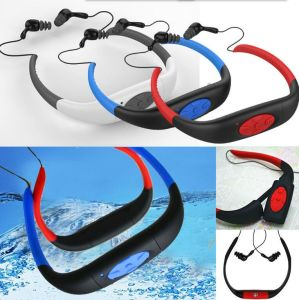 8GB Waterproof Sports MP3 Player FM Radio Headset for Swimming Surfing Diving pictures & photos