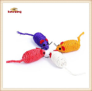 Pet Product Sisal Small Mouse Cat Toy (KB3016) pictures & photos