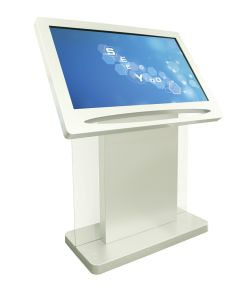 Interactive Digital Signage Kiosk with WiFi and Windows