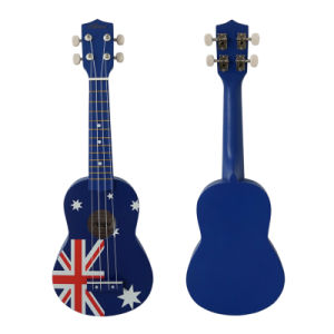Australia National Flag Soprano Universal Ukulele for Students pictures & photos