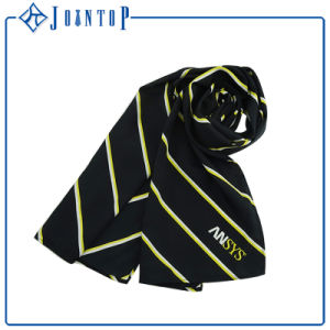 New 2017 Graphic Print Shawl Twill Silk Women Scarf pictures & photos