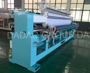 High Speed 19-Head Quilting Embroidery Machine pictures & photos