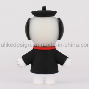 Black Hat Snoopy PVC USB Flash Drive (UL-PVC017-01) pictures & photos