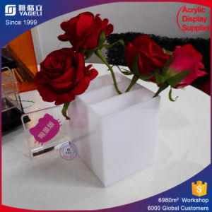 Waterproof White Rose Packing Box Flowers Holder pictures & photos