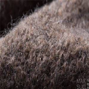 Mohair /Cotton / Wool/Polyester/ Nylon Mixed Wool Fabric for Winter Coat pictures & photos