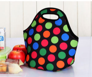 Customized Neoprene Lunch Tote with Fashion Design pictures & photos