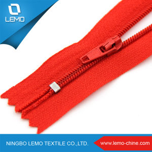 High Quality Large Plastic Zipper Nylon for Jacket pictures & photos