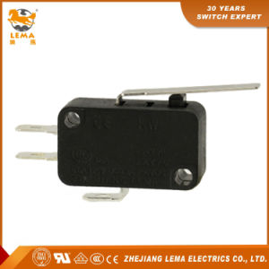 Customized Kw7-1 Approved Snap Action Lever Micro Switch pictures & photos