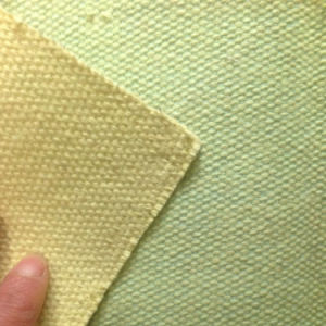 High Temperature Fireproof Wire Inserted Fiberglass Aramid Fabric pictures & photos