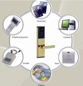Hotel Network Keyless Interior Door Security Lock pictures & photos