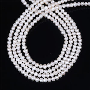 AAA Quality Freshwater Pearl 5mm 6mm Potato Shape Pearl Strand pictures & photos