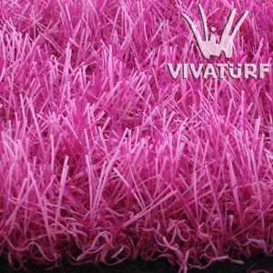 Multicolorful Artificial Grass Pink Grass