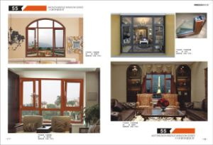 Aluminium Window Interior Windows and Doors pictures & photos