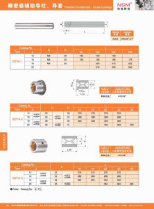Mold Part Standard Guide Post and Guide Bushing (XZF18) pictures & photos