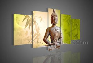 Modern Decora Canvas Art Buddhas Oil Painting (BU-007) pictures & photos