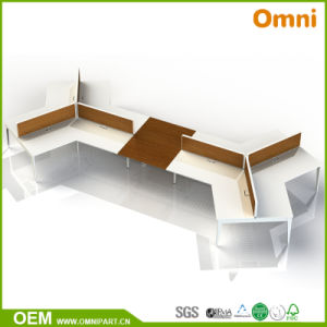 Wooden Style Fashionable Office Furniture Desk pictures & photos