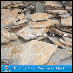 Natural Rustic Flagstone Slate for Floor Tiles pictures & photos