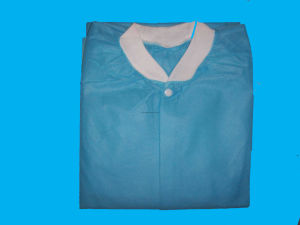 for Single Use Non-Woven Lab Coat pictures & photos
