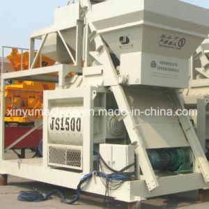 Twin Shaft Concrete Mixer for Sale (JS1500) pictures & photos