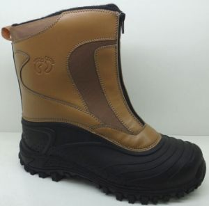 Injection Boots / Winter Snow Boots with PU Upper (SNOW-190025) pictures & photos