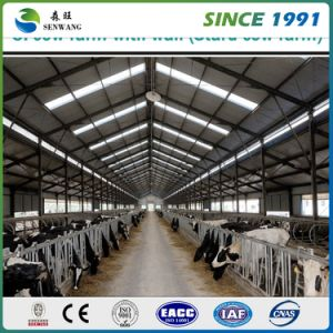 High Quality Building Material Prefabricated Two Story Steel Structure Warehouse pictures & photos