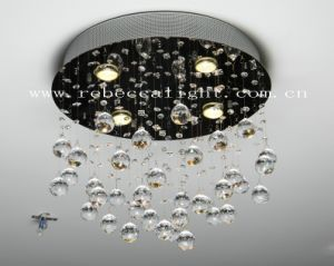 Modern Stainless Steel Decorative K9 Crystal Ceiling Lamp pictures & photos