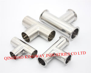 Stainless Steel Sanitary Clamp Tee. pictures & photos