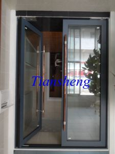 Aluminium Floor Spring Door Aluminium Spring Hinge Door for Entrance Door pictures & photos