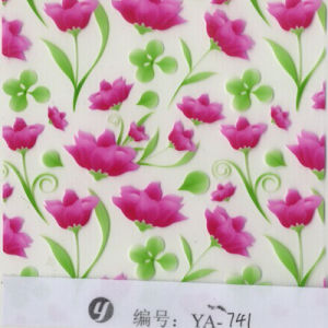 Yingcai Beautiful Highly Quality 0.04m Thickness Flower Design Hydrographic Film pictures & photos