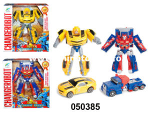 Newst Design Best Choose Plastic Baby Toys Transformers (050385) pictures & photos