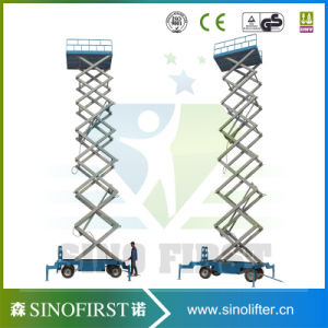 2016 Scissor Lift Hydraulic Movable Lift Hydraulic Lifting Aerial Platform with Ce SGS TUV pictures & photos