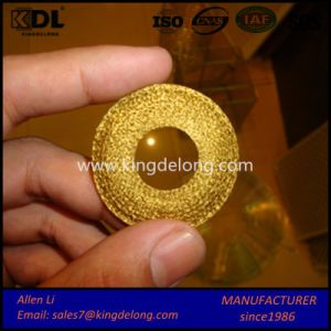 Compressed Brass Knitted Filter Wire Mesh pictures & photos