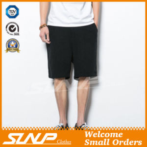 Men′s Woven Linen/Cotton Shorts Pant Costume