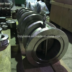 "API594 Class1500 4"" Rtj Wafer Dual Plate Check Valve pictures & photos"
