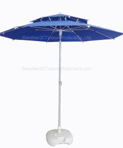 Double Layer Outdoor Umbrella pictures & photos