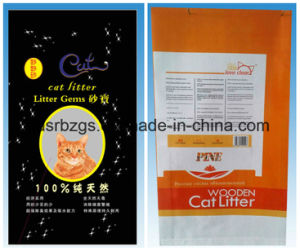 China Made Plastic Packaging PP Woven Bag for Cat Litter pictures & photos
